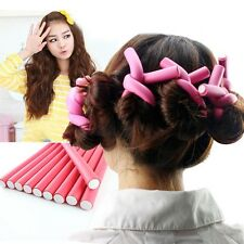 10pcs DIY Universal Hair Stick Curly Hair Roller Convenient Useful Beautiful Hot