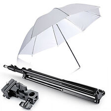 Neewer Single Speedlight Flash ShoeMount Swivel Translucent Soft Umbrella Kit