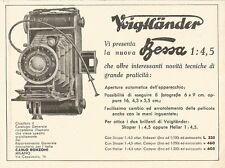 W2976 Voigtlander vi presenta la nuova BESSA - Pubblicità del 1932 - Old advert