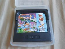 Sonic the Hedgehog 2 Sega Game Gear Tails Cartridge Game CLEANED AND TESTED