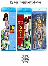 TOY STORY TRILOGY BLU RAY TRIPLE PACK PART 1 2 3 + Extras Brand New UK Release