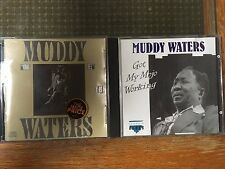 Muddy Waters CD x 2 King Bee (US) and Got My Mojo Working rare (EEC press) EX