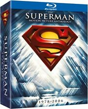 Superman The Complete Anthology (Blu-ray; 8-disc set) BRAND NEW!! 1978-2006