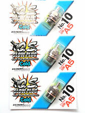 OS No.10 #10 A5 Cold Nitro Glow Plug - 3 Pack 71605100