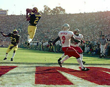 CHARLES WOODSON 1998 ROSE BOWL GAME MICHIGAN WOLVERINES 8x10 PHOTO