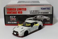 TOMICA LIMITED VINTAGE NEO LV-N100a NISSAN GT-R NISMO 1/64 WHITE TOMYTEC