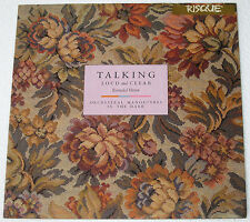 """UK Pressing ORCHESTRAL MANOEUVRES IN THE DARK Loud And Clear 12"""" EP Record"""