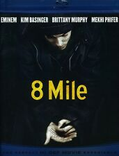 8 Mile [WS] [Uncensored Bonus Features (2010, REGION ALL Blu-ray New) BLU-RAY/WS