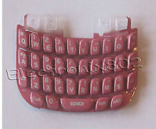 For Blackberry Curve 8520 Keypad Keyboard Qwerty Buttons Repair Part Pink UK