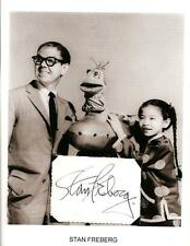 Stan Freberg Autograph St George and the Dragonet Time for Beany Foxy By Proxy 2