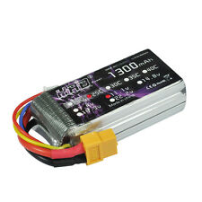 HRB 1300mAh 3S 11.1V 25-50C RC Lipo Battery Pack XT60 Plug Plane Helicopter Car