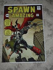 Spawn #221 RARE! Spider-Man Amazing Fantasy Homage McFarlane Cover HOT!