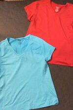 LOT OF LADIES ATHLETIC WORKS  TOPS  SIZE LARGE