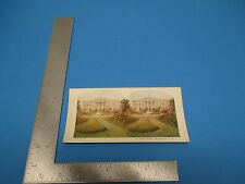 Vintage 1925 A.C. Co Stereoview Card #39 The White House, Washington D.C.