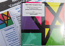 NEW ORDER CD x 2 Complete Music EXTENDED Mixes + Download of orig Album + Sheet