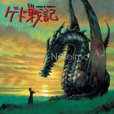 New 0704 GEDO SENKI TALES FROM EARTHSEA SOUNDTRACK CD Music Songs Anime