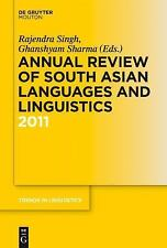Annual Review of South Asian Languages and Linguistics 2011 (Trends in Linguisti