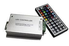 DC 12V 24A 288W RGB 44 Key IR Remote Controller  LED SMD 5050 3528 Strip Light