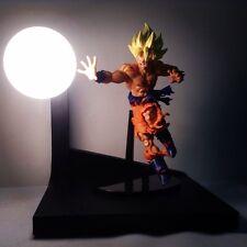 Goku Battle Damaged Custom Lamp