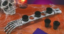 """""""SHOT IN THE ARM"""" 5 SHOT GLASSES SET IN A HUMAN ARM BONE! GREAT HALLOWEEN PROP!"""