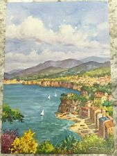 PostCard Of Italy-4,1/2x6,3/4inch-Sorrento-printed On Pounded Paper.-MadeInItaly