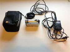 Canon FS200 41x adv zoom+charger adp+ AV, USB cables+ bag+mic