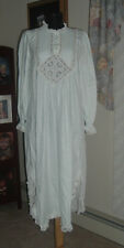 Willow Creek light mint green nightgown gown Bust 38 Gorgeous Victorian style