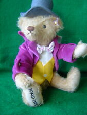 STEIFF Sale WILLY WONKA Teddy Bear NUMBER 0002 Limited Edition 2016 11 inch