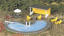 Bachmann Swimming Pool & Accessories - Suit HO Model Trains layout - #42215