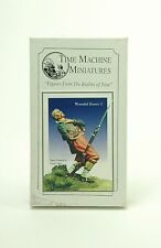 KIT DI MONTAGGIO METALLO SOLDATO TIME MACHINE MINIATURES WOUNDED ZOUAVE 2+BOX-1Q