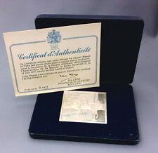 médaille - plaque  Elisabeth II 11 Juin 1977 Jubilé  - 116,5 grs d'argent pur