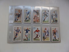 players 1928 footballer cigarrete cards 50 set