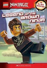 Lego Ninjago: Legend of the Brown Ninja by Meredith Rusu (2016, Paperback)