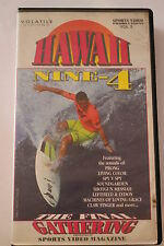 Hawaii 9 -4 - Surfing -CLASSIC RARE VHS PAL  'AS NEW'