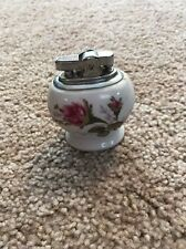 Vintage China Rose Cigarette Lighter Made In Japan