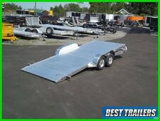 2017 aluma 8218 Tilt carhauler trailer equipment gravity tilt 7 x 18 aluminum