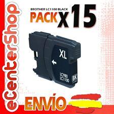 15 Cartuchos de Tinta Negra LC1100 NON-OEM Brother MFC-J615W / MFCJ615W