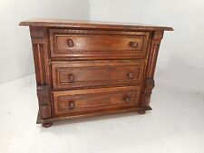 Vintage oak Miniature Chest of Drawers ,  ref 2208