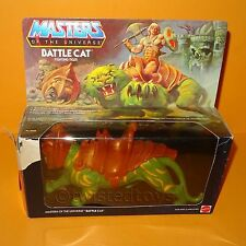 VINTAGE 1981 MATTEL MOTU HE-MAN (HEMAN) BATTLE CAT TIGER COMPLETE BOXED RARE