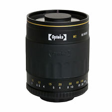 Opteka 500mm Telephoto Lens for Olympus Evolt E5 E3 E1 E620 E520 E510 E500 E420