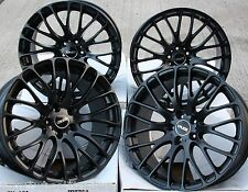 "19"" BLK 170 Cerchi In Lega Adatta VW Caddy CC EOS GOLF PASSAT SCIROCCO SHARAN"