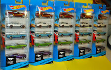 "Hot Wheels 2014 50 Years - ""Mustangs 50th Anniversary"" - (5-Pack)"