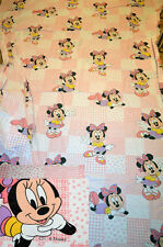 Drap plat flat sheet MINNIE vintage cti disney set of bed