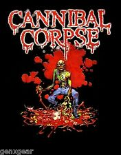 CANNIBAL CORPSE cd lgo FRANTIC DISEMBOWELMENT SHIRT XL New OOP wretched spawn