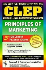 CLEP Principles of Marketing (REA) -The Best Test Prep for the CLEP Exam (CLEP T