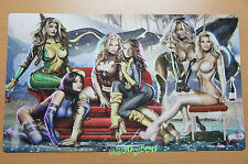 C358 Free Mat Bag Yugioh Playmat Women Super Heros Play Mat Large Game Mouse Pad