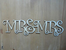 MR&MRS  Wooden Words/LettersPersonalised Names Wedding/Home/Gift letters names