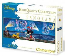 CLEMENTONI DISNEY PANORAMA PUZZLE MICKEY AND MINNIE 1000 PCS #39287