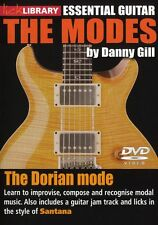 LICK LIBRARY The DORIAN MODES Learn to Play Carlos Santana Scale Rock GUITAR DVD