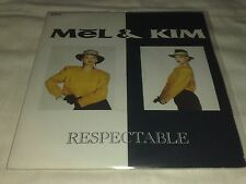 First press 7'',Vinyl EP:Mel & Kim-respectable(Supreme records)disco italo rare